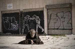 homeless refugee