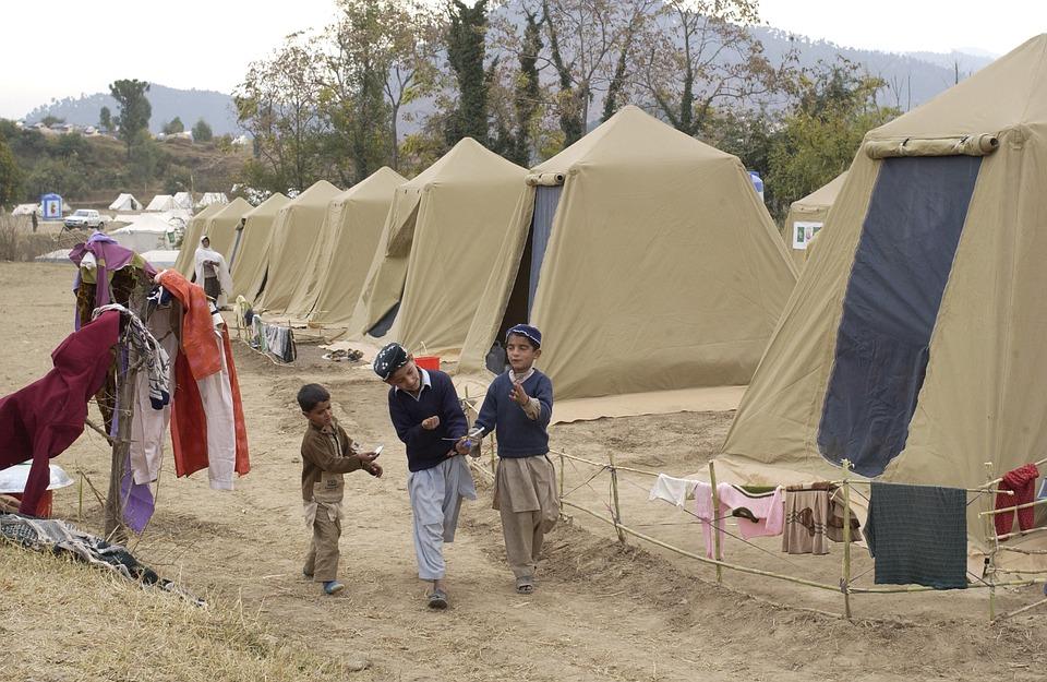refugees camp